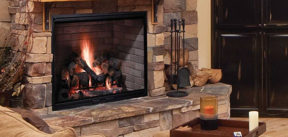 Fireplaces builders materials for Fireplace material options