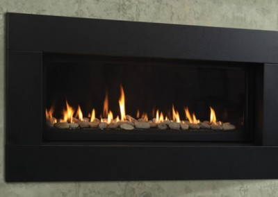 Echelon direct vent gas fireplace