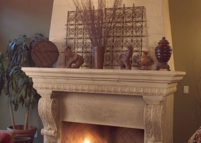 Stone Fireplace Mantel Albuquerque