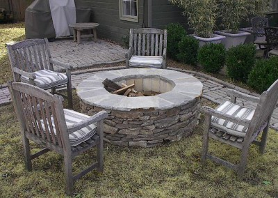 Wood Burning Firepit