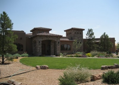 New Mexico Stone House