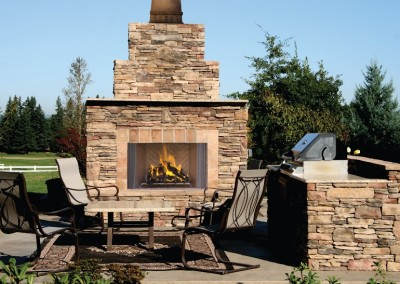 Outdoor fireplace Albuquerque