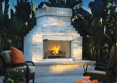 vent-free gas fireplace